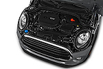 Car Stock 2016 MINI Cooper - 2 Door Convertible Engine  high angle detail view