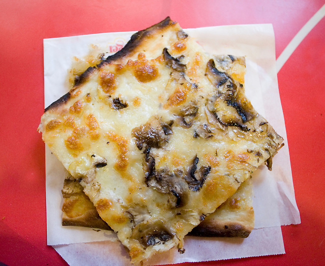 Pizza, Pan Da Michele Restaurant, Rome, Italy