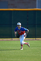 Mic Paul during the Under Armour All-America Tournament powered by Baseball Factory on January 18, 2020 at Sloan Park in Mesa, Arizona.  (Zachary Lucy/Four Seam Images)
