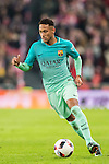 Neymar da Silva Santos Junior of FC Barcelona in action during their Copa del Rey Round of 16 first leg match between Athletic Club and FC Barcelona at San Mames Stadium on 05 January 2017 in Bilbao, Spain. Photo by Victor Fraile / Power Sport Images