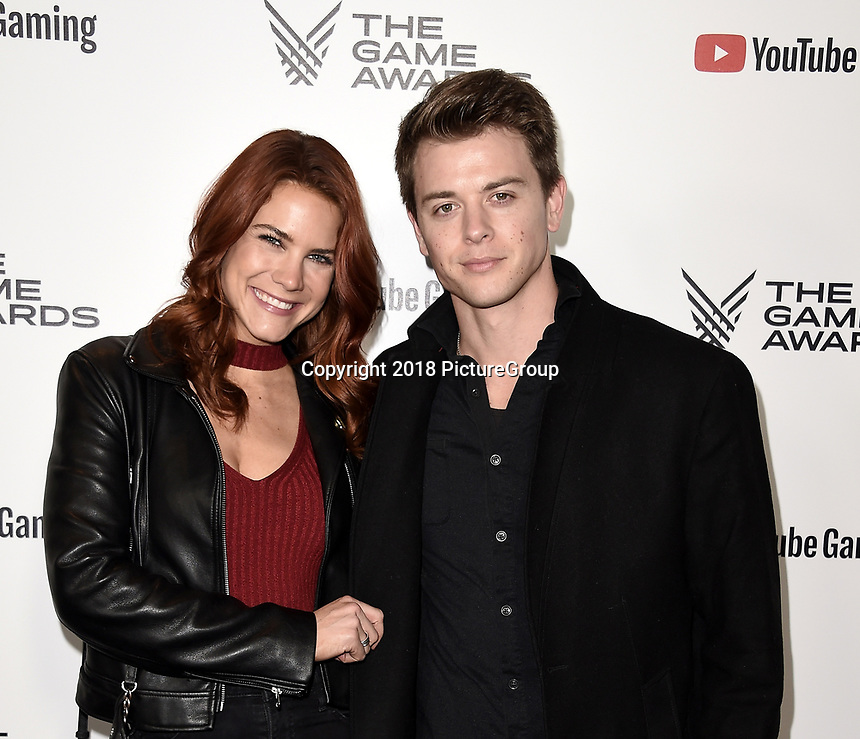 LOS ANGELES - DECEMBER 6: Courtney Hope and Chad Duell attend the 2018 Game Awards at the Microsoft Theater on December 6, 2018 in Los Angeles, California. (Photo by Scott Kirkland/PictureGroup)