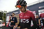 Egan Bernal (COL) Team Ineos at sign on before the 103rd edition of GranPiemonte 2019 running 183km from Aglie to Santuario di Oropa (Biella), Italy. 10th Octobre 2019. <br /> Picture: Marco Alpozzi/LaPresse | Cyclefile<br /> <br /> All photos usage must carry mandatory copyright credit (© Cyclefile | LaPresse/Marco Alpozzi)