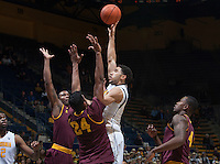 CAL Basketball vs Arizona State, January 22, 2015