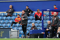 Middlesbrough Ronnie Jepson reacts to the referee's call<br /> <br /> Photographer Stephanie Meek/CameraSport<br /> <br /> The EFL Sky Bet Championship - Queens Park Rangers v Middlesbrough - Saturday 26th September 2020 - Loftus Road - London <br /> <br /> World Copyright © 2020 CameraSport. All rights reserved. 43 Linden Ave. Countesthorpe. Leicester. England. LE8 5PG - Tel: +44 (0) 116 277 4147 - admin@camerasport.com - www.camerasport.com