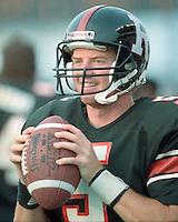 Jason Garrett Ottawa Rough Riders quarterback 1991. Copyright photograph Scott Grant/