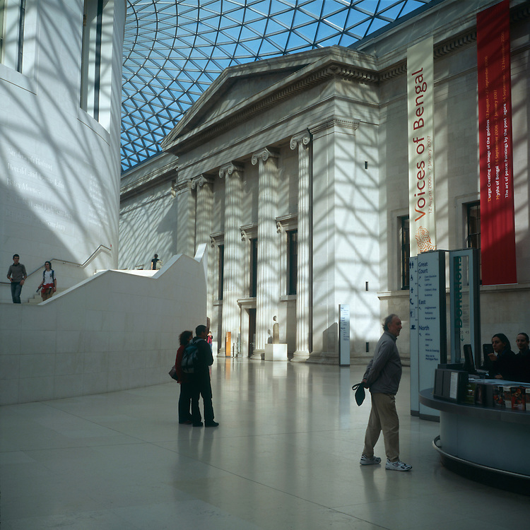 ©  John Angerson.The British musuem London free to the world since 1753, the British Museum houses one of the greatest collections of human cultural history..