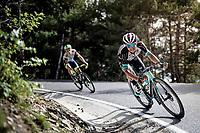 Esteban Chaves (COL/BikeExchange) in the descent of the Col de Beixalis<br /> <br /> Stage 15 from Céret to Andorra la Vella (191km)<br /> 108th Tour de France 2021 (2.UWT)<br /> <br /> ©kramon