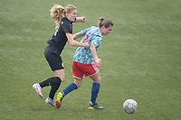VOETBAL: NIEUWEHORNE: 28-02-2021, SC Heerenveen - AJAX, uitslag 1-3, Samantha Dewey (#14), Sherida Spitse (#8), ©foto Martin de Jong