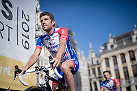 Thibaut Pinot (FRA/Groupama-FDJ)<br /> <br /> Official 106th Tour de France 2019 Teams Presentation at the Central Square (Grote Markt) in Brussels (Belgium)<br /> <br /> ©kramon