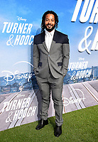 """LOS ANGELES, CA - JULY 15: Brandon Jay McLaren attends a premiere event for the Disney+ original series """"Turner & Hooch"""" at Westfield Century City on July 15, 2021 in Los Angeles, California. (Photo by Frank Micelotta/Disney+/PictureGroup)"""