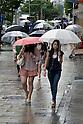 "Annual Rainy Season ""Tsuyu"" in Japan"