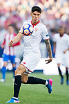 Carlos Joaquin Correa of Sevilla FC in action during their La Liga match between Atletico de Madrid and Sevilla FC at the Estadio Vicente Calderon on 19 March 2017 in Madrid, Spain. Photo by Diego Gonzalez Souto / Power Sport Images