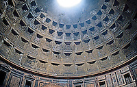 Rome: Pantheon--looking up to the ocula.