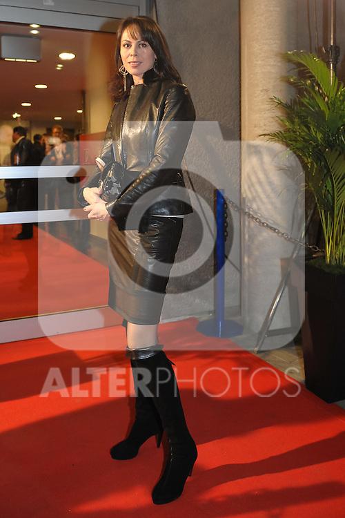 16.10.2010, o2 World, Hamburg, GER, Weltmeisterschaft Schwergewicht, Dr. Vitali Klitschko (GER) vs Shannon Briggs (USA), im Bild Natalie Klitschko (Frau von Vitali Klitschko) Foto © nph / Witke
