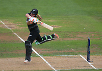 NZ's Frankie Mackay bats during the 2nd international women's T20 cricket match between the New Zealand White Ferns and Australia at McLean Park in Napier, New Zealand on Tuesday, 30 March 2021. Photo: Dave Lintott / lintottphoto.co.nz