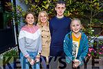 Niamh, Bernie, Charlie and Susanna Smyth enjoying the evening in Benners Hotel on Saturday.