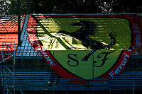 4th September 2020; Autodromo Nazionale Monza, Monza, Italy ; Formula 1 Grand Prix of Italy, free practise sessions;  Ferrari banner at Monza Italy