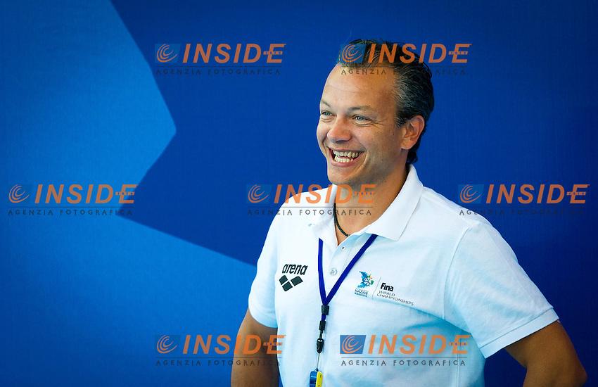 BRA-USA<br /> Brazil Vs USA<br /> Referee<br /> Day 10 02/08/2015<br /> XVI FINA World Championships Aquatics<br /> Waterpolo<br /> Kazan Tatarstan RUS July 24 - Aug. 9 2015 <br /> Photo Pasquale Mesiano/Deepbluemedia/Insidefoto