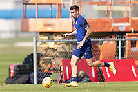 BRADENTON, FL - JANUARY 23: Aaron Herrera moves with the ball during a training session at IMG Academy on January 23, 2021 in Bradenton, Florida.
