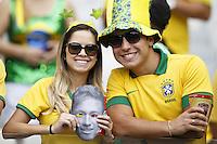 Brazil fans show their support for Neymar