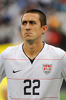 Davy Arnaud (22) of the United States (USA). The United States and Haiti played to a 2-2 tie during a CONCACAF Gold Cup Group B group stage match at Gillette Stadium in Foxborough, MA, on July 11, 2009. .