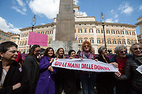 "Fiorella, Singer and Activist. ""Hands Off Women"". <br />