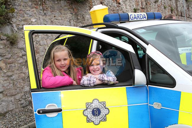 Jane and Charlotte at the Garda Open Day 2012...Photo NEWSFILE/Jenny Matthews.