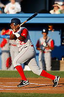 August 5, 2009:  Luis Rivera of the Brooklyn Cyclones during a game at Dwyer Stadium in Batavia, NY.  The Cyclones are the Short-Season Class-A affiliate of the New York Mets.  Photo By Mike Janes/Four Seam Images