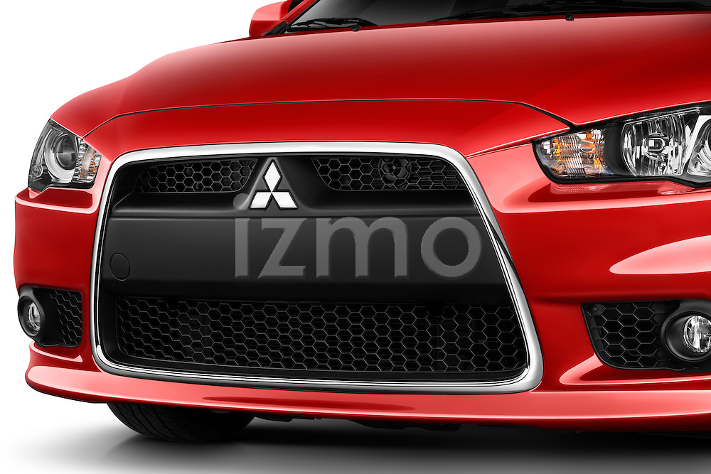 Vehicle grille detail view on a 2012 Mitsubishi Lancer GT Touring