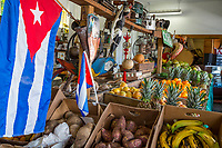 Miami, Florida.  Little Havana Cuban Fruit Store, Los Pinarenos Fruteria.