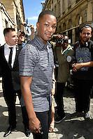 Corey HAWKINS - Show Louis Vuitton Paris Fashion Week Menswear Spring/Summer 2017 - 23 juin 2016 - FRANCE