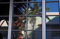Window reflections along Collins Ave in South Beach