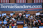 Bernie Sanders first presidential campaign rally in New York