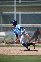 Tampa Bay Rays Oscar Rojas (61) during a minor league Spring Training game against the Baltimore Orioles on March 29, 2017 at the Buck O'Neil Baseball Complex in Sarasota, Florida.  (Mike Janes/Four Seam Images)