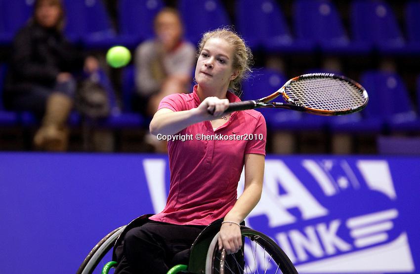 16-12-10, Tennis, Rotterdam, Reaal Tennis Masters 2010,   Diede de Groot