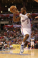 12/09/12 Los Angeles, CA: Los Angeles Clippers point guard Chris Paul #3 during an NBA game between the Los Angeles Clippers and the Toronto Raptors played at Staples Center. The Clippers defeated the Raptors 102-83.