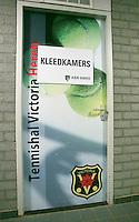 18-01-14,Netherlands, Rotterdam,  TC Victoria, Wildcard Tournament, Dressing room<br /> Photo: Henk Koster