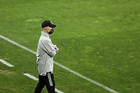 SAN JOSE, CA - NOVEMBER 4: LAFC head coach Bob Bradley before a game between Los Angeles FC and San Jose Earthquakes at Earthquakes Stadium on November 4, 2020 in San Jose, California.