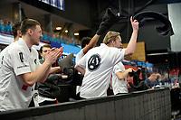 11-02-2021: Basketbal: Donar Groningen v Apollo Amsterdam: Groningen  blijdschap bij Apollo na punt