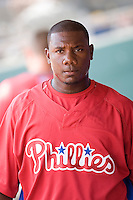 Howard, Ryan 7801.jpg. Minnesota Twins at Philadelphia Phillies. Spring Training Game. Saturday March 21st, 2009 in Clearwater, Florida. Photo by Andrew Woolley.