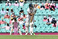 9th January 2021; Sydney Cricket Ground, Sydney, New South Wales, Australia; International Test Cricket, Third Test Day Three, Australia versus India; Hanuma Vihari of India batting