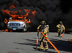Ellington Mini-bus Fire