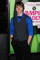 """LOS ANGELES, CA - FEBRUARY 04: Joel Courtney at the Los Angeles Premiere Of The Weinstein Company's """"Vampire Academy"""" held at Regal Cinemas L.A. Live on February 4, 2014 in Los Angeles, California. (Photo by Xavier Collin/Celebrity Monitor)"""