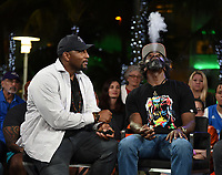 "MIAMI BEACH, FL - JANUARY 28: Ray Lewis and Ed Reed discuss Fox Sports ""The ReUnion"" at the Fox Sports South Beach studio during Super Bowl LIV week on January 29, 2020 in Miami Beach, Florida. (Photo by Frank Micelotta/Fox Sports/PictureGroup)"