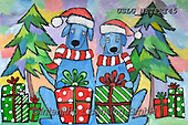 Nettie,REALISTIC ANIMALS, REALISTISCHE TIERE, ANIMALES REALISTICOS, paintings+++++Holiday Dogs,USLGNETPRI45,#A#, EVERYDAY pop art