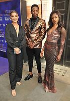 """guest, Kayi Ushe and Janique Charles at the """"The Show Must Go On!"""" red carpet pre-show, Palace Theatre, Shaftesbury Avenue, London, on Sunday 06 June 2021 in London, England, UK. <br /> CAP/CAN<br /> ©CAN/Capital Pictures"""