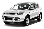 Front three quarter view of a 2013 Ford Kuga Trend SUV