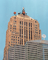Helmut Jahn: Chicago Board of Trade Additon.  Photo '88.