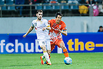 Jeju United Defender Kim Wonil (R) fights for the ball with Adelaide United Defender Benjamin Garuccio (L) during the AFC Champions League 2017 Group Stage - Group H match between Jeju United FC (KOR) vs Adelaide United (AUS) at the Jeju World Cup Stadium on 11 April 2017 in Jeju, South Korea. Photo by Marcio Rodrigo Machado / Power Sport Images