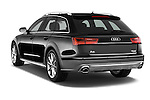 Car pictures of rear three quarter view of a 2015 Audi A6 Allroad Quattro - 5 Door Wagon Angular Rear